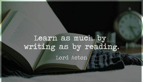 Lord Acton quote writing